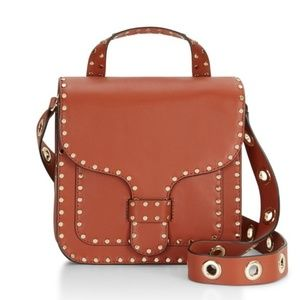 Rebecca Minkoff Midnighter Top Handle Bag Brown